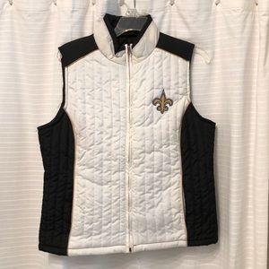 Saints Puffer Vest